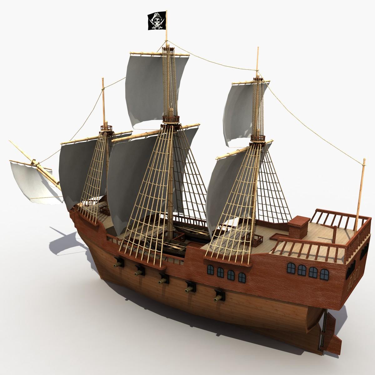 Как нарисовать корабль черная жемчужина поэтапно