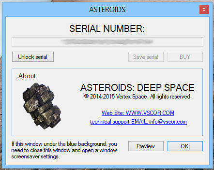 Asteroids: DEEP SPACE